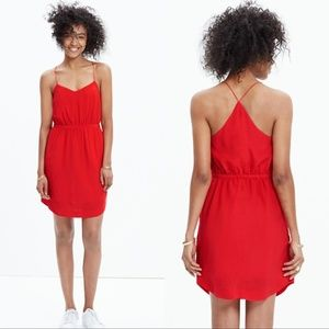 Madewell Silk Starview Cami Dress
